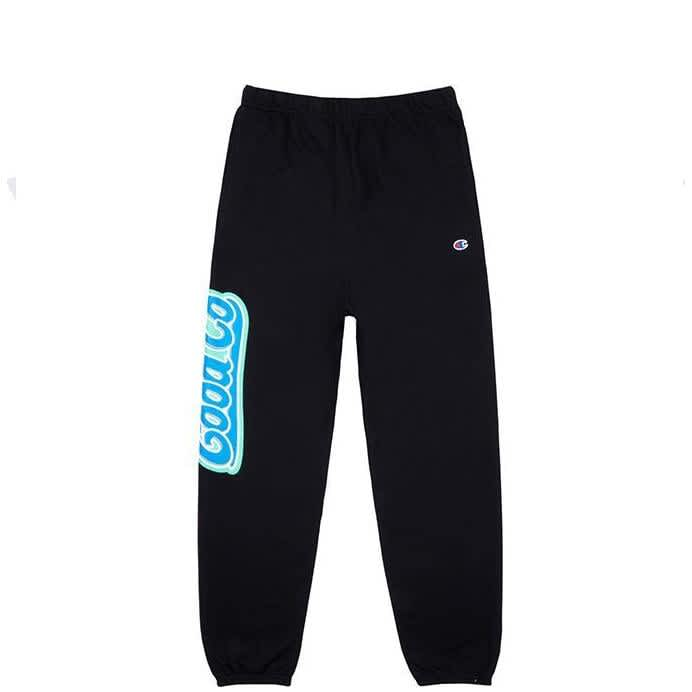The Good Company Toothpaste Sweatpants - Black   Trousers by The Good Company 1