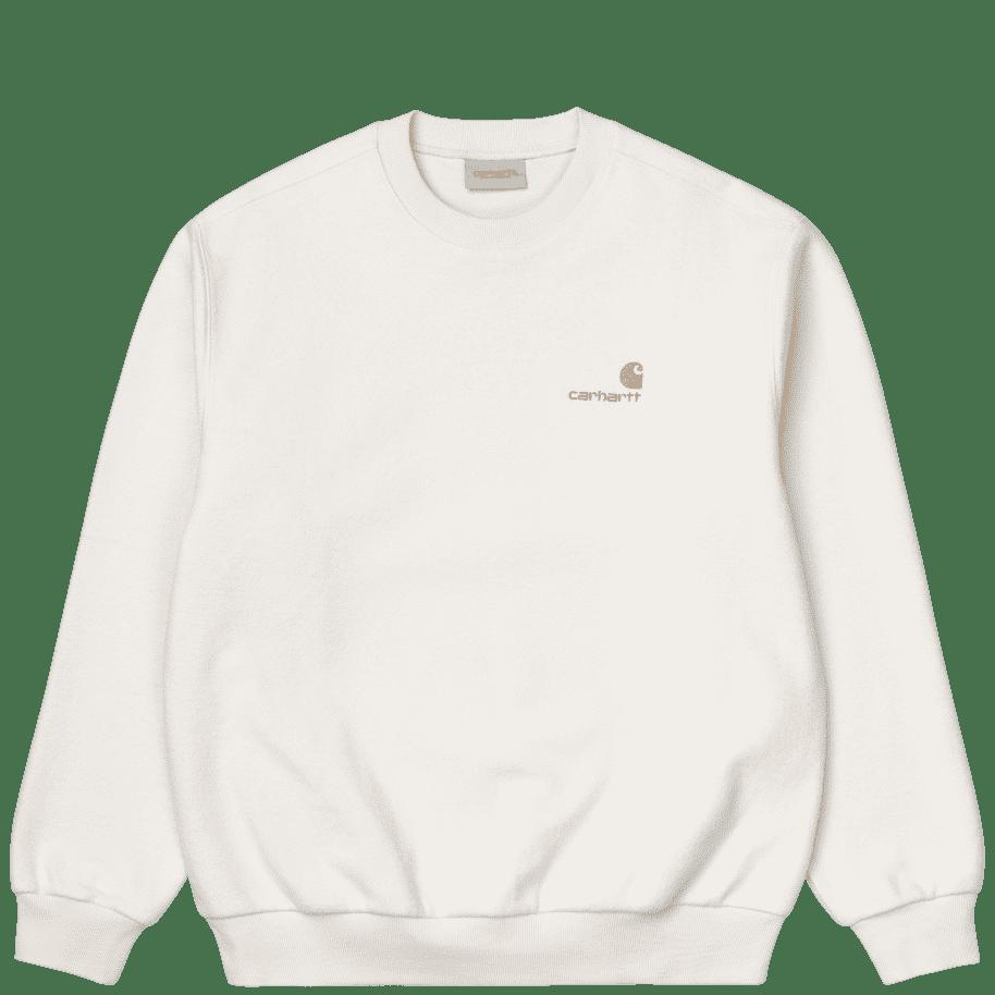 Carhartt WIP Contra Sweat - Natural   Sweatshirt by Carhartt WIP 1