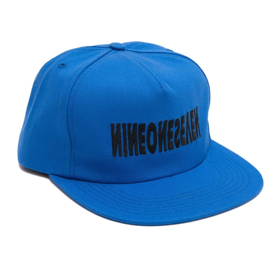 Call Me 917 Cyber Logotype Hat - Royal | Snapback Cap by Call Me 917 1