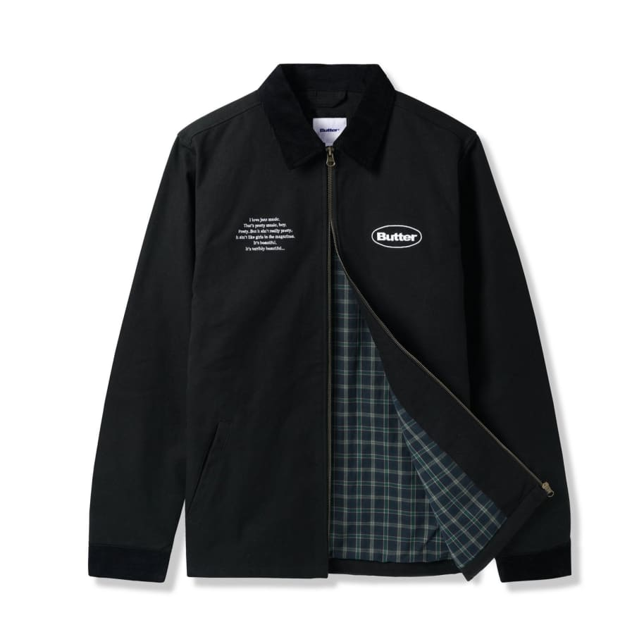 Butter Goods Scenes In The City Jacket - Black   Jacket by Butter Goods 3