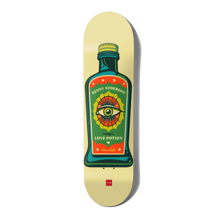 """Chocolate - Hecox Essentials Kenny Anderson 8.25""""   Deck by Chocolate Skateboards 1"""