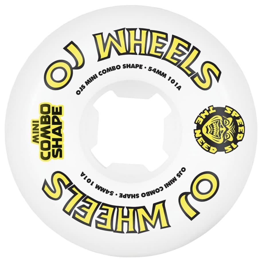 OJS WHEELS TEAM LINE MINI COMBO 101A 54mm | Wheels by OJ Wheels 1