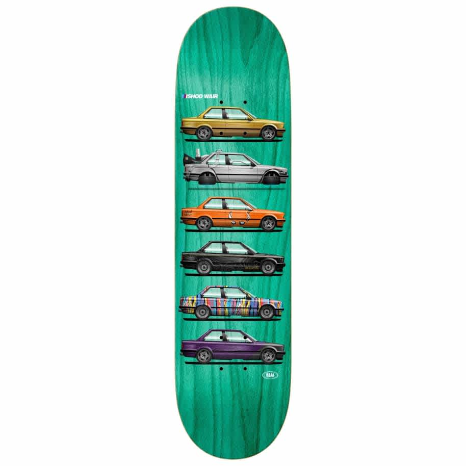 Real Wair Customs Twin Tail Deck - 8.0 | Deck by Real Skateboards 1