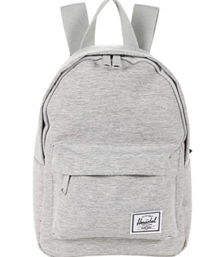 Herschel Classic Mini Backpack - Light Grey | Backpack by Herschel Supply Co. 1