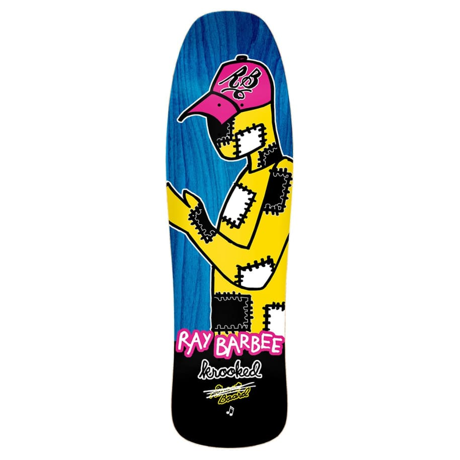 """Krooked Ray Barbee Redux Deck 9.5"""" 