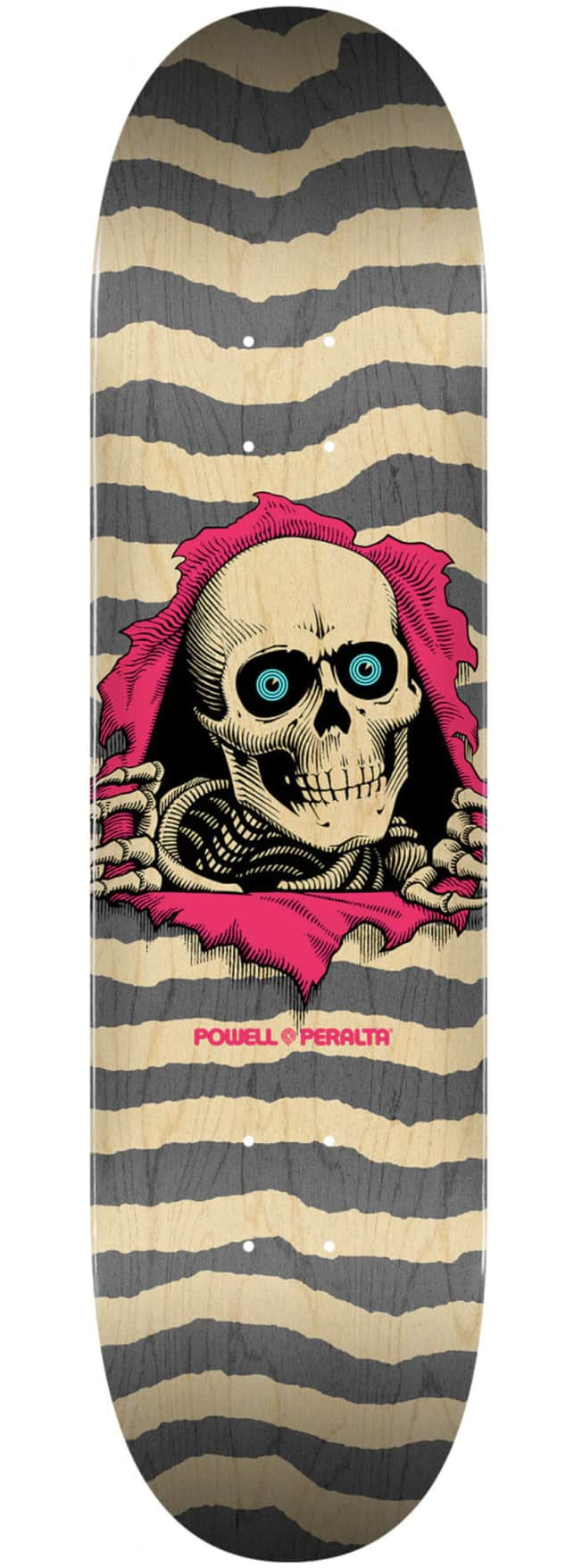 Powell Peralta Ripper Deck - Natural/Grey 8.25 | Deck by Powell Peralta 1