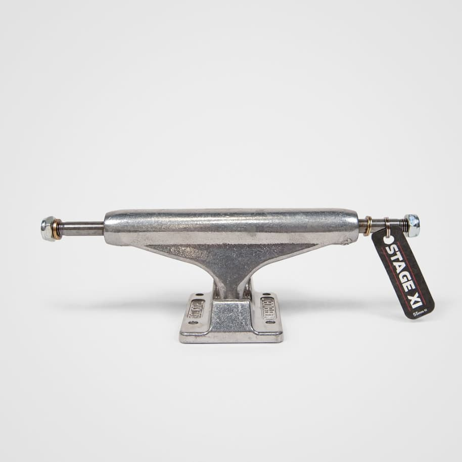 Independent Trucks - (Single) Indy 129 Stage 11 Standard Skateboard Truck - Raw | Trucks by Independent Trucks 1