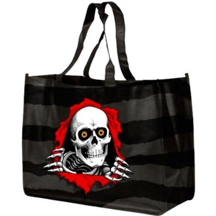 Powell Peralta Tote / Shopping Bag   Tote Bag by Krooked Skateboards 1