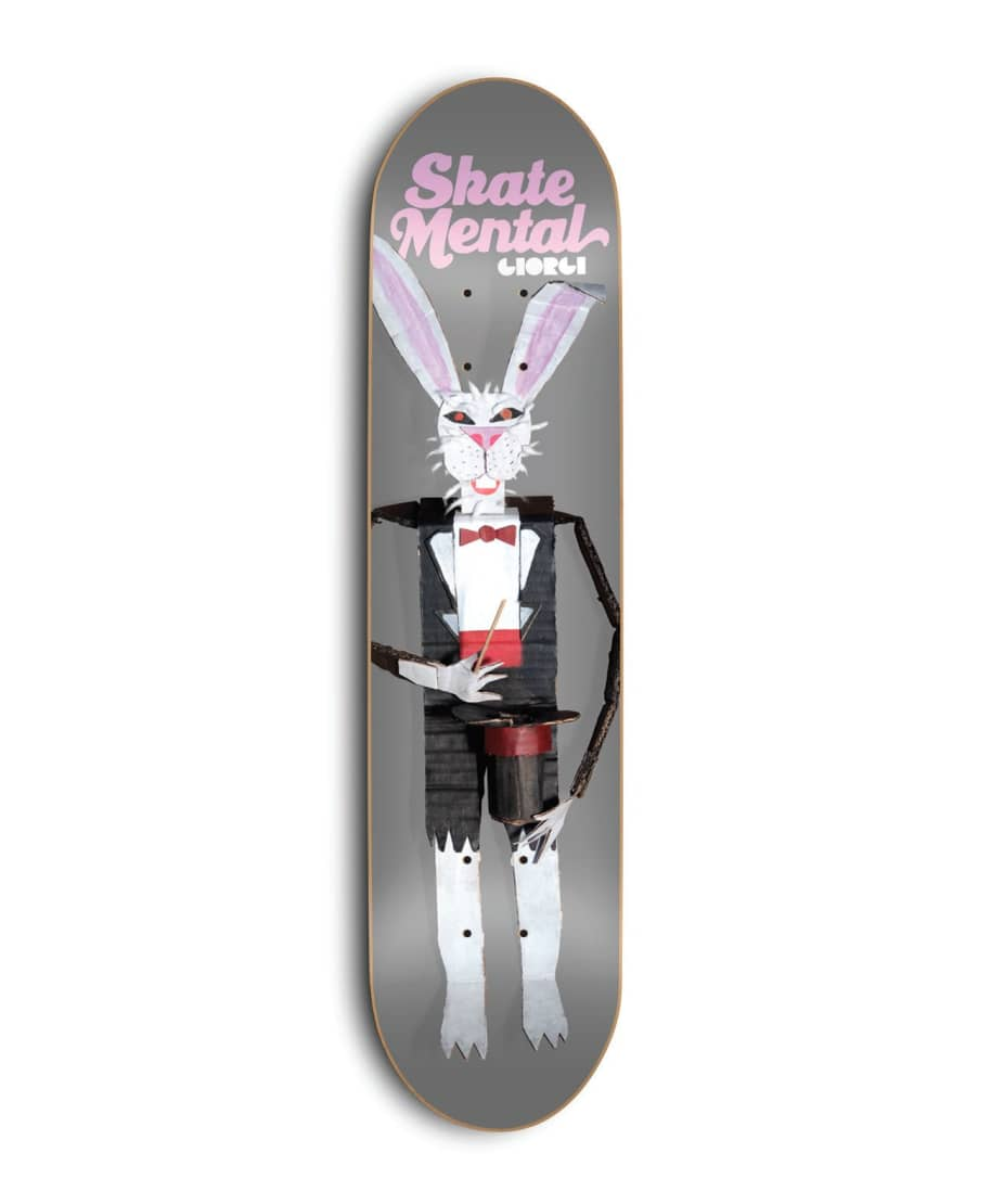 Skate Mental Giorgi Rabbit Doll 8.5"