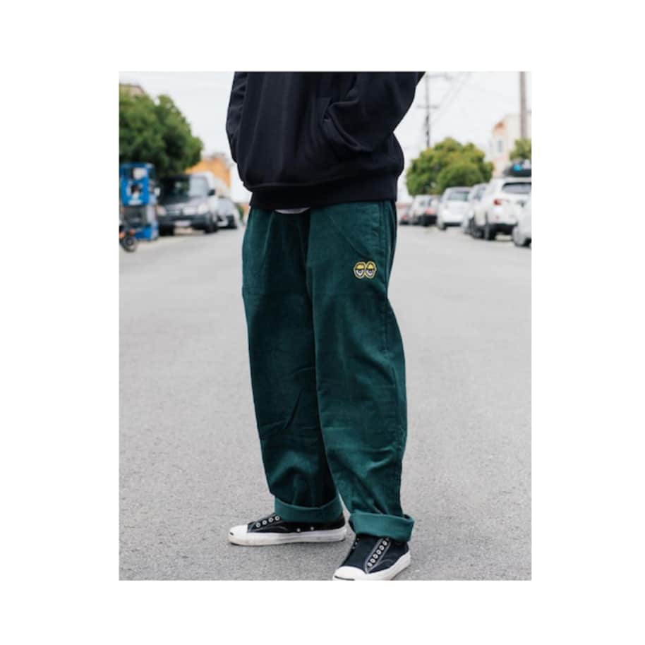 KROOKED EYES CORDUROY PANT | Trousers by Krooked Skateboards 2