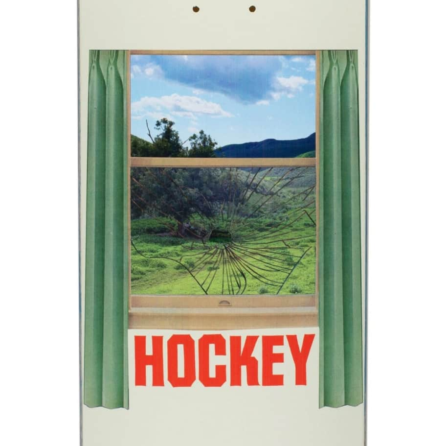 Hockey Looking Glass Skateboard Deck - 8.5"