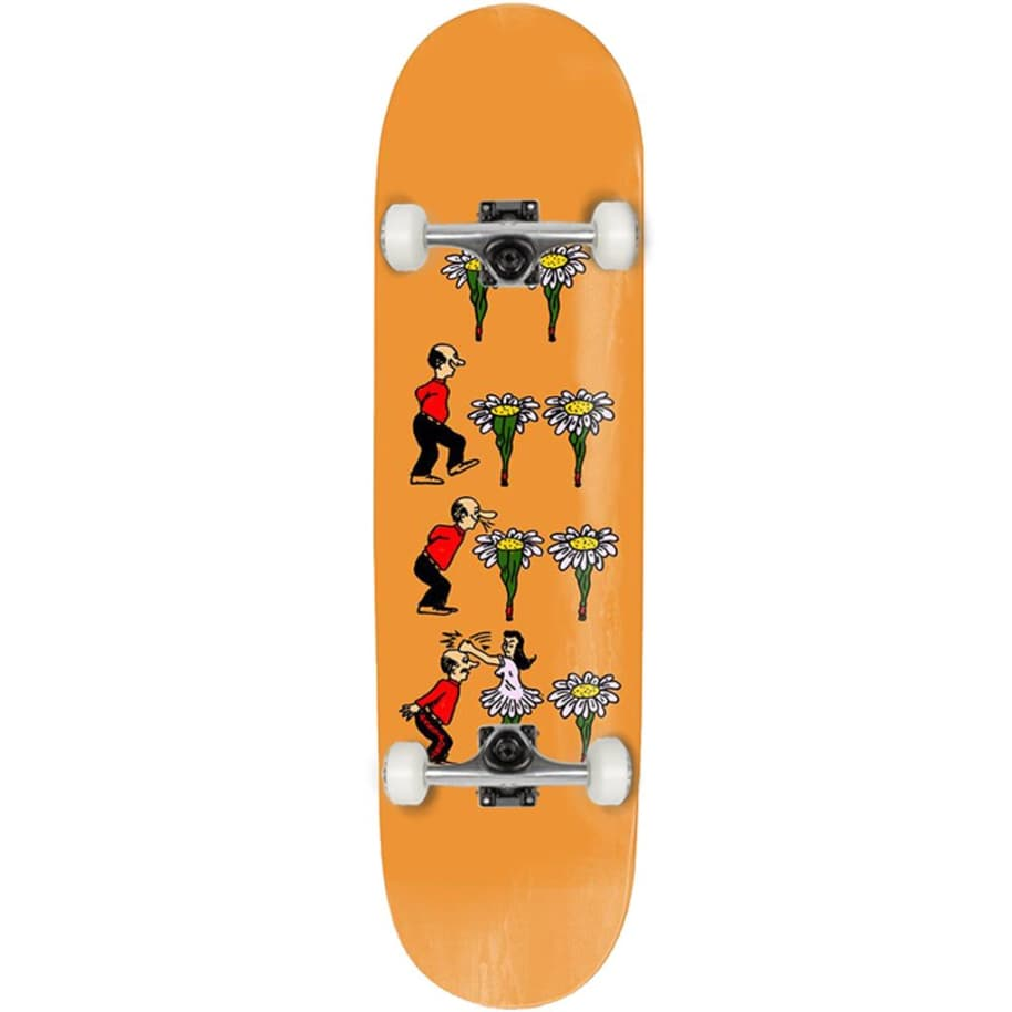 """Pass~Port - What U Thought - Flowers - Skateboard Deck - 7.875"""" 