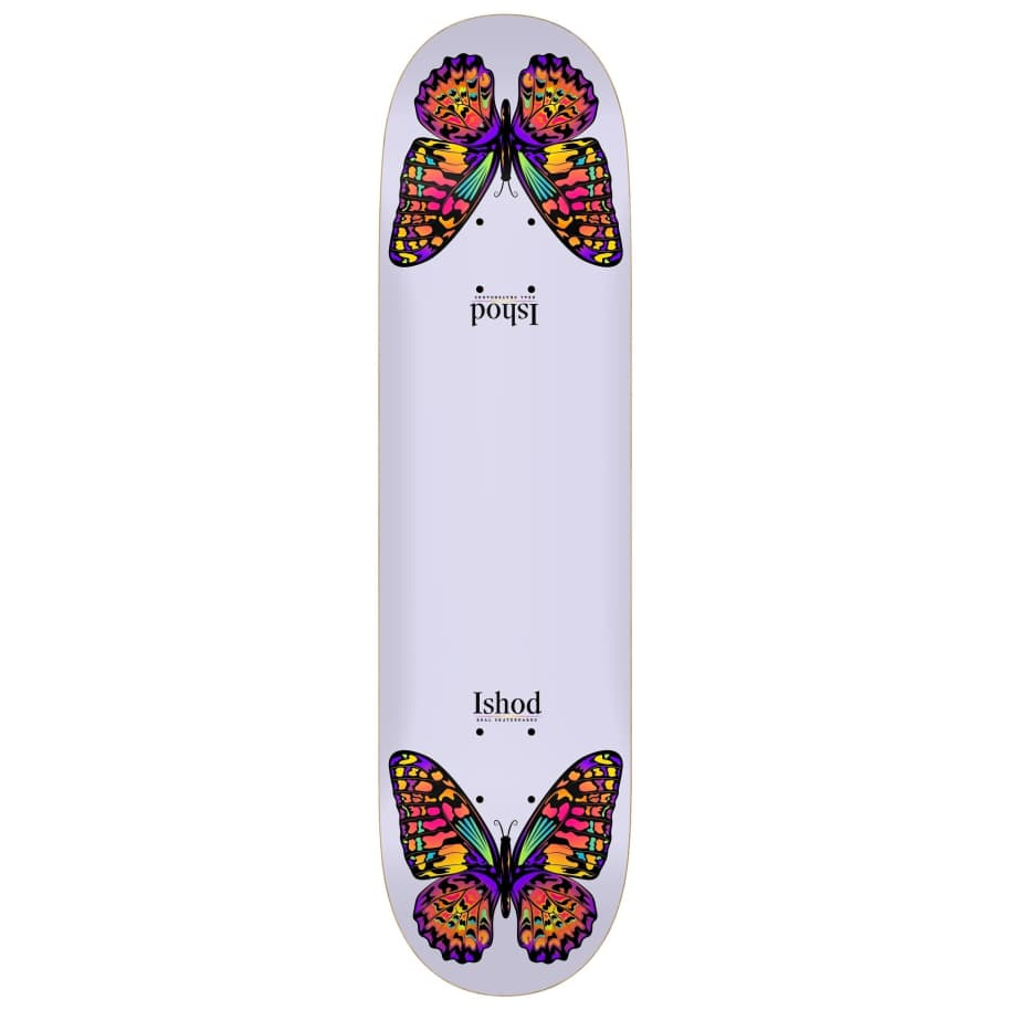 """Real - Ishod Monarch Twin Tail Slick Deck (8.3"""")   Deck by Real Skateboards 1"""