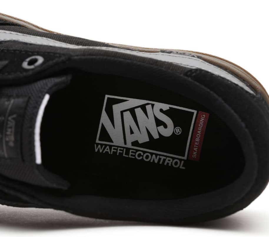 Vans Berle Pro Skate Shoes - Black / Dark Gum | Shoes by Vans 3