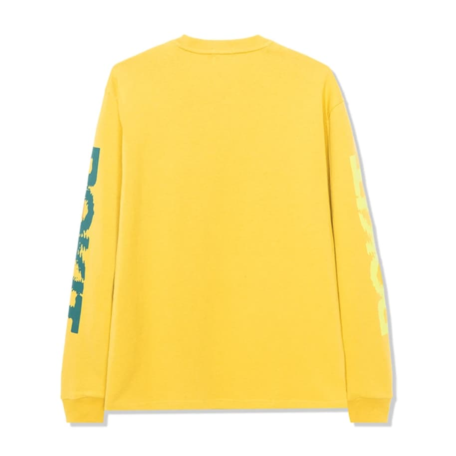 ROKIT Ripple Long Sleeve T-Shirt - Yellow | Longsleeve by ROKIT 2