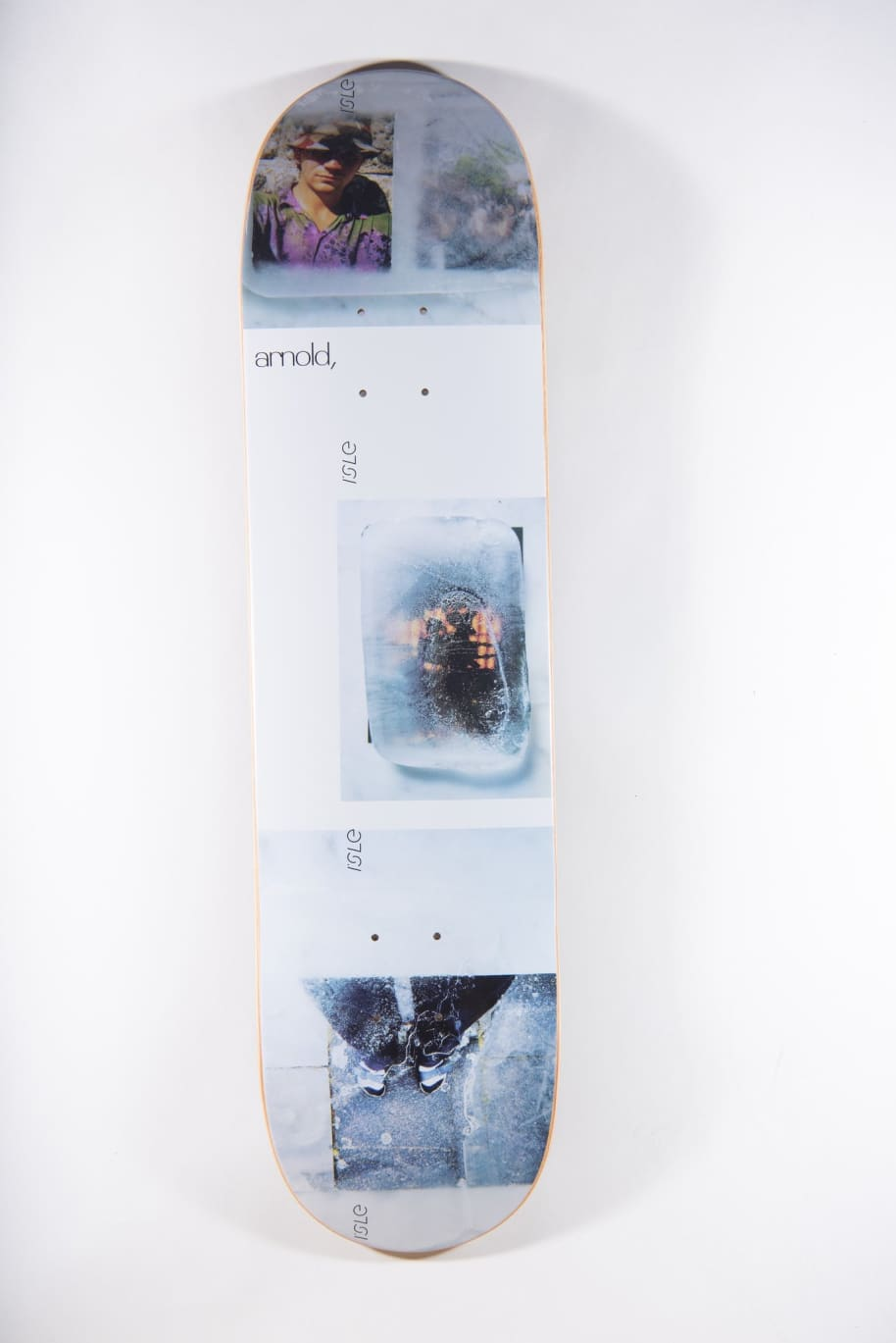 ISLE Arnold Freeze Deck 8.25   Deck by Isle Skateboards 1