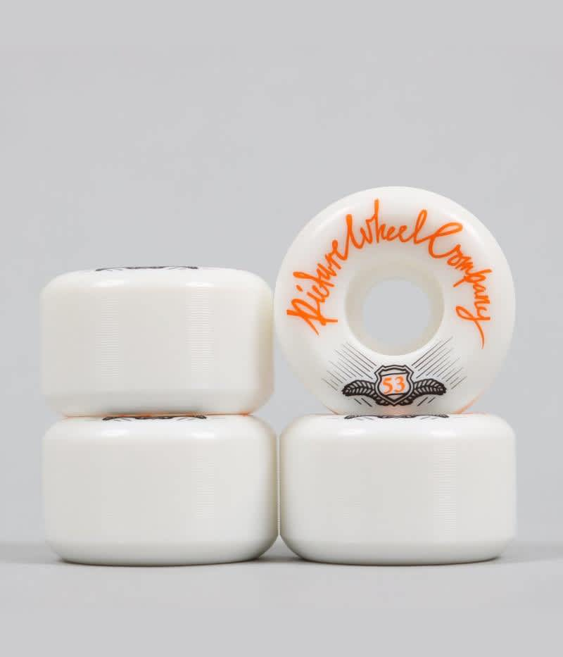 Picture POP Wheels (Tangerine) 53mm | Wheels by Picture Wheel Company 1