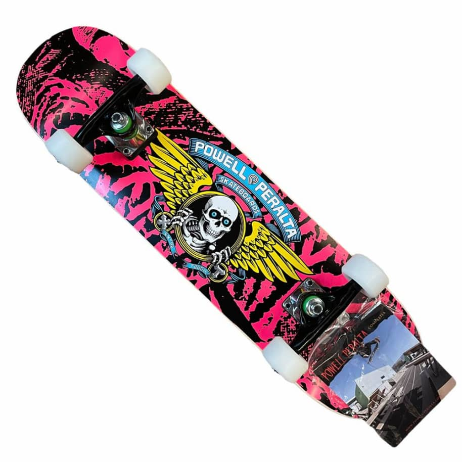 Powell Peralta Complete Winged Ripper 7x28 Pink | Complete Skateboard by Powell Peralta 1