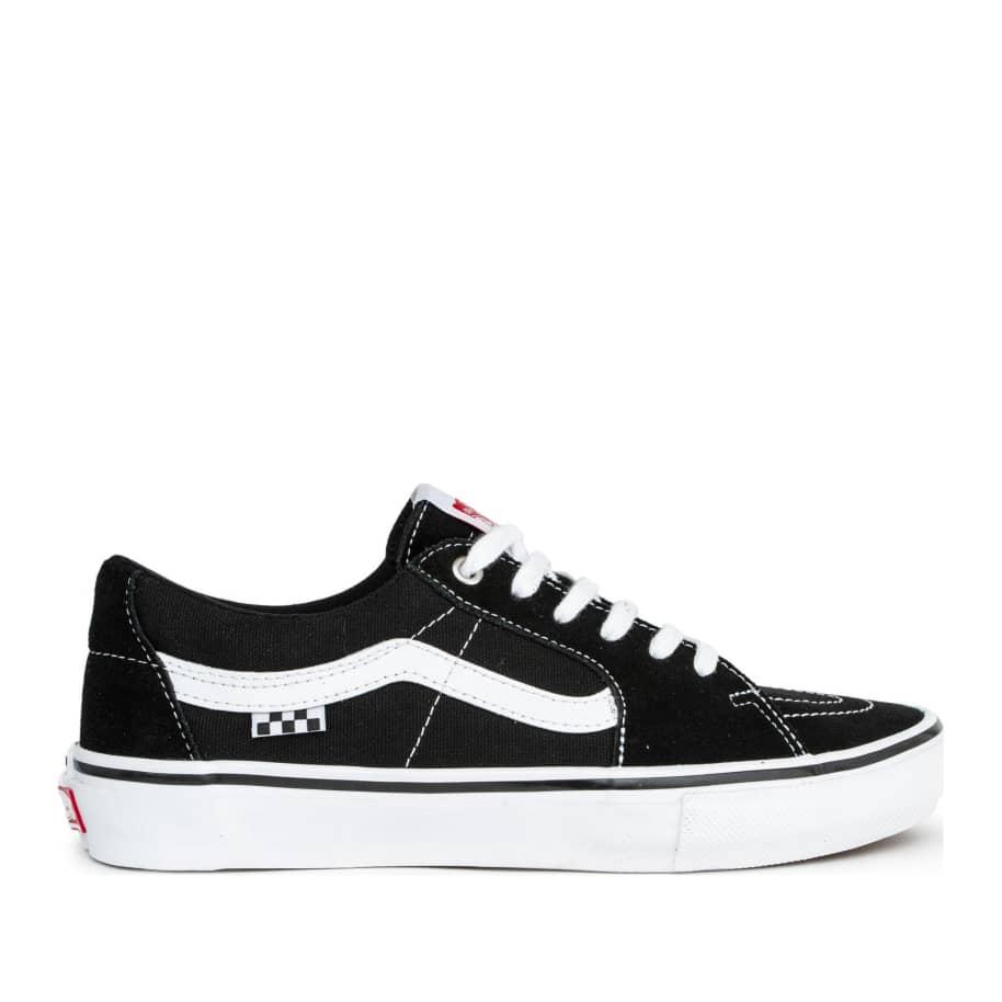 Vans Skate Sk8-Low Pro Shoes - Black / White   Shoes by Vans 1
