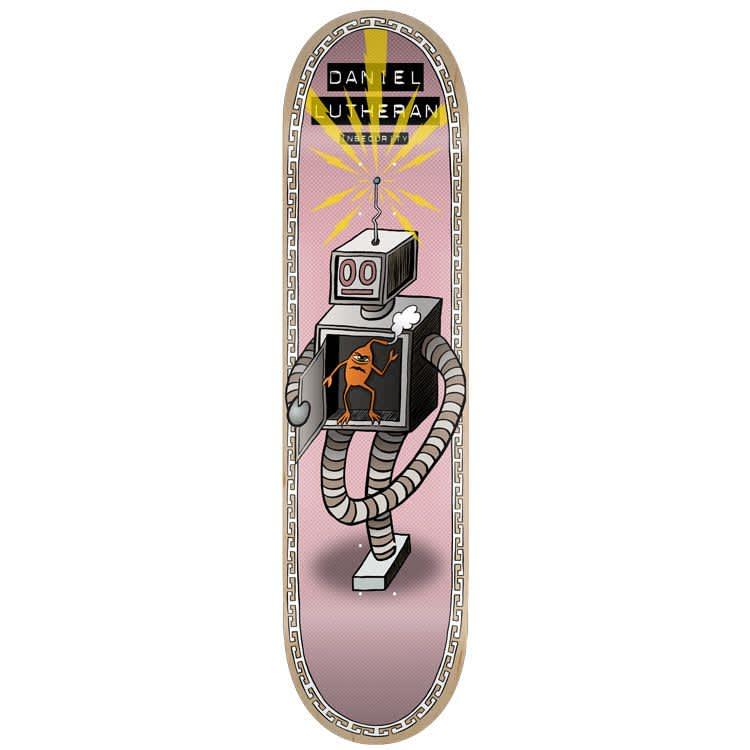 "Toy Machine - Daniel Lutheran Insecurity Deck (8.25"")   Deck by Toy Machine 1"