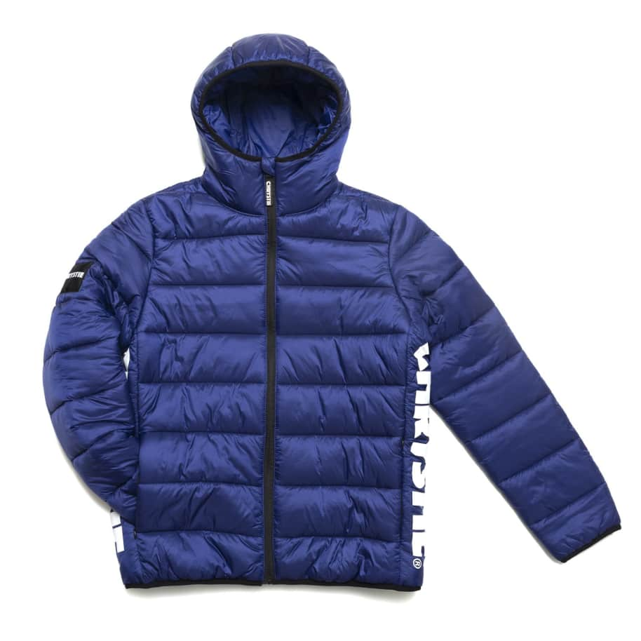 Chrystie NYC - OG Logo Puffer Jacket / Sapphire Blue | Jacket by Chrystie NYC 1