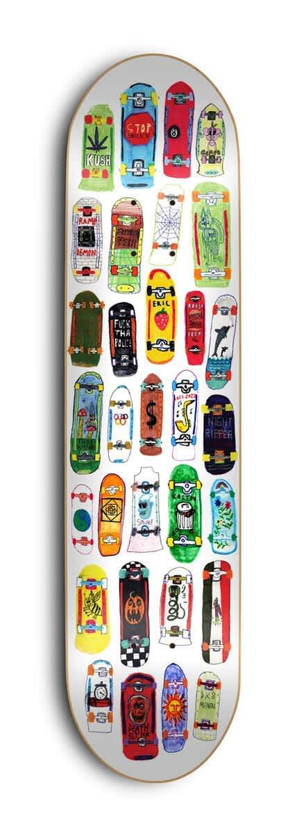 Skate Mental Koston Board Collage Deck - (8.5) | Deck by Skate Mental 1