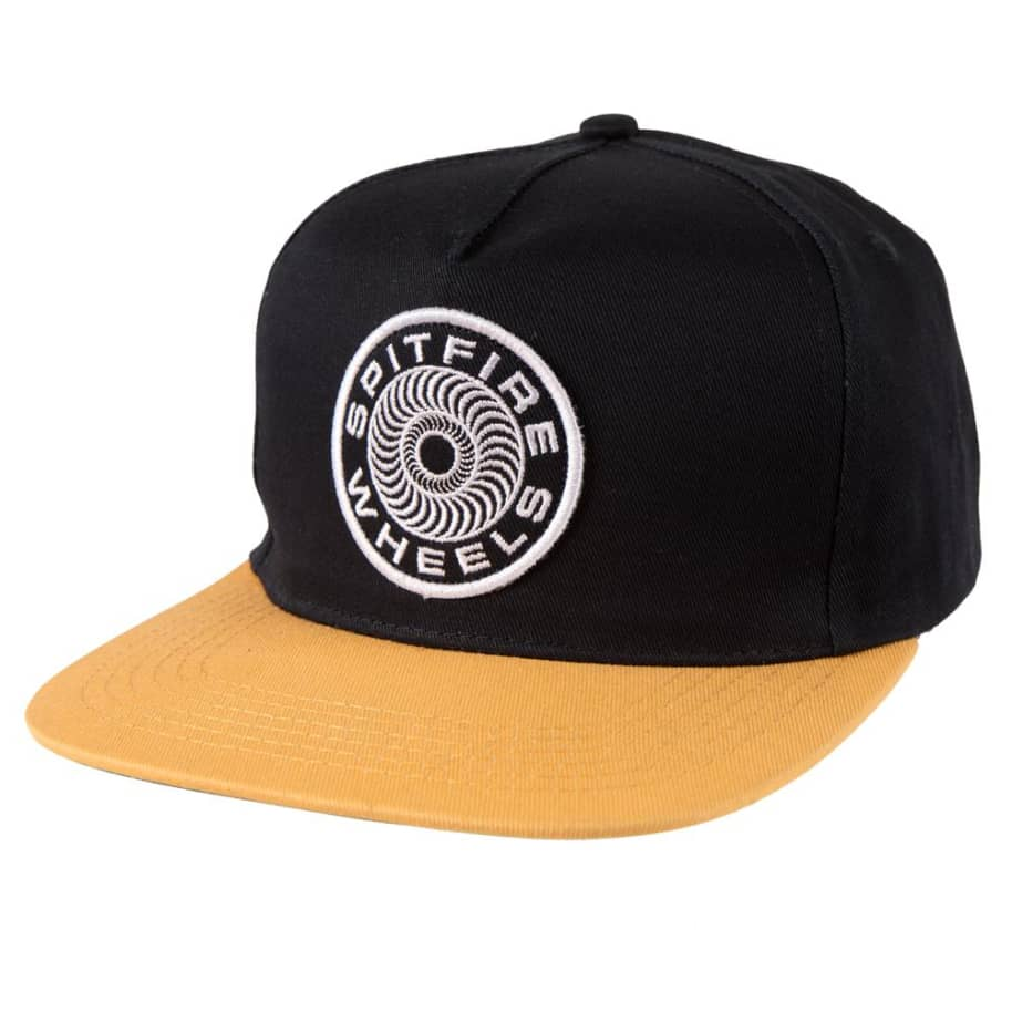 Classic 87 Swirl Patch Snapback | Navy | Snapback Cap by Spitfire Wheels 1