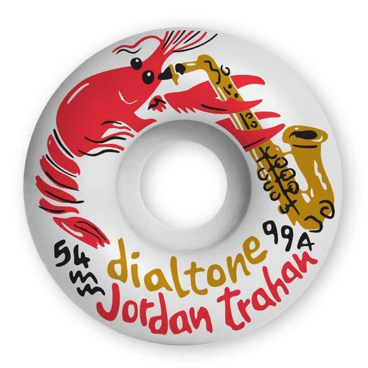 Dial Tone Trahan Zydeco Standard Skateboard Wheels - 99A 54mm | Wheels by Dial Tone Wheel Co. 1