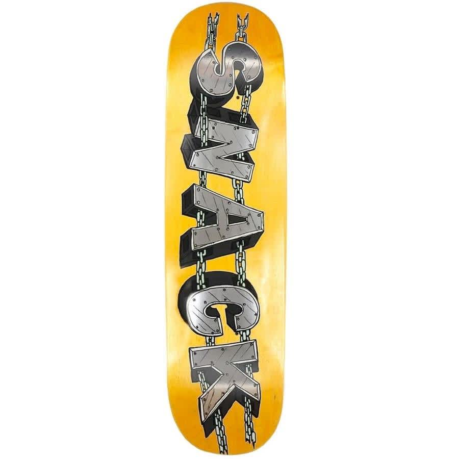 """Snack Skateboards GKode Chain Deck 8"""" (yellow) 