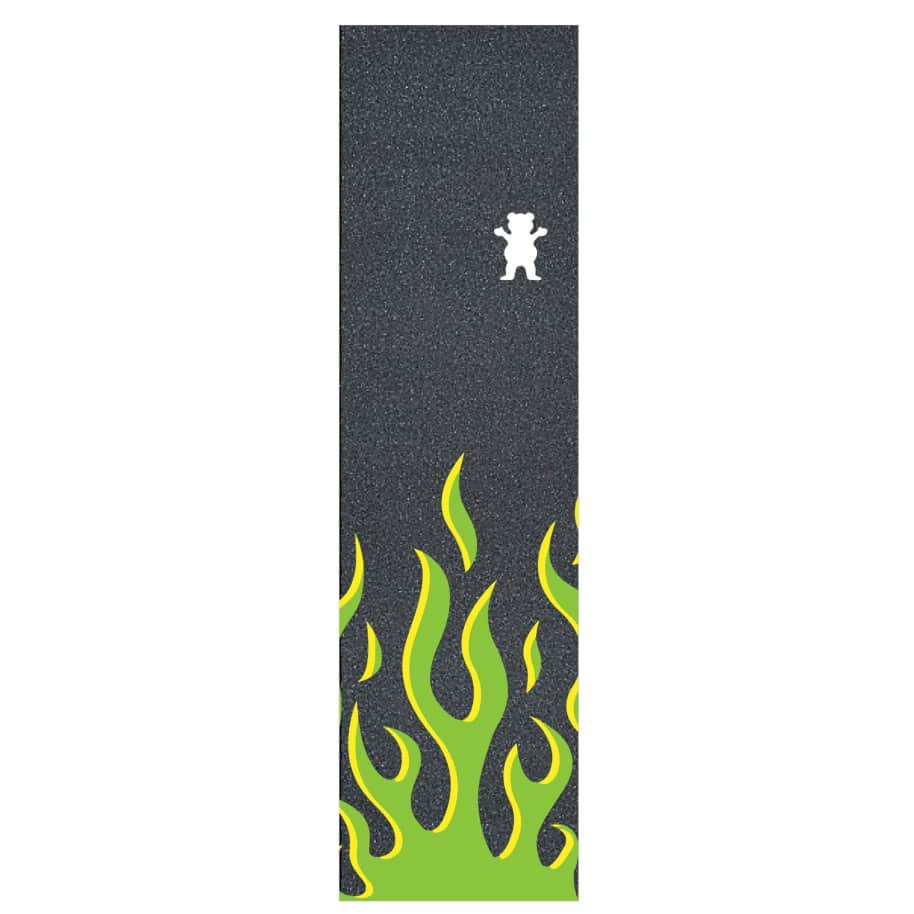 Grizzly Farrenheit Griptape Green | Griptape by Grizzly Griptape 1