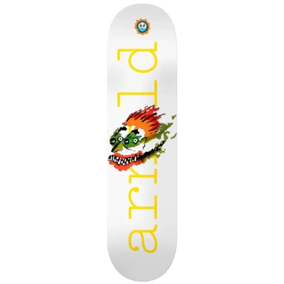 """Isle Mike Arnold Face Drawing Skateboard Deck - 8.5""""   Deck by Isle Skateboards 1"""