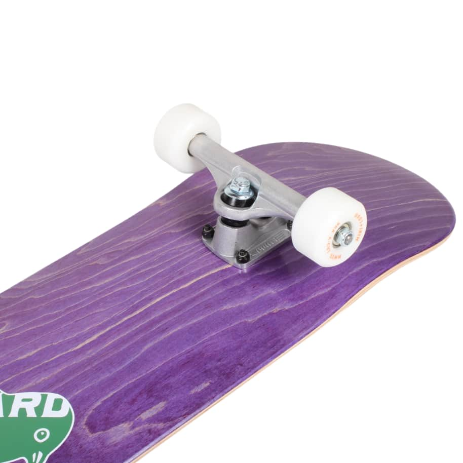 Orchard Green Bird Logo Hybrid Complete 7.8 Purple (With Free Skate Tool) | Complete Skateboard by Orchard 5