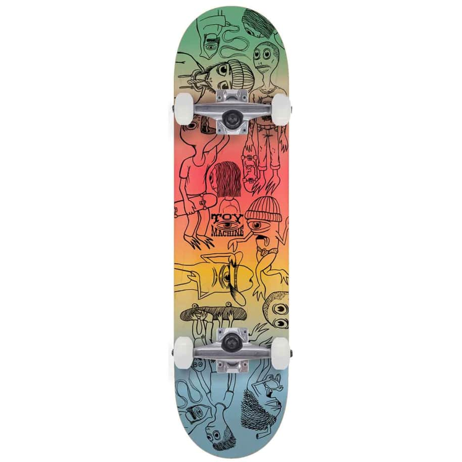 Toy Machine Characters Complete (8.0)   Complete Skateboard by Toy Machine 1