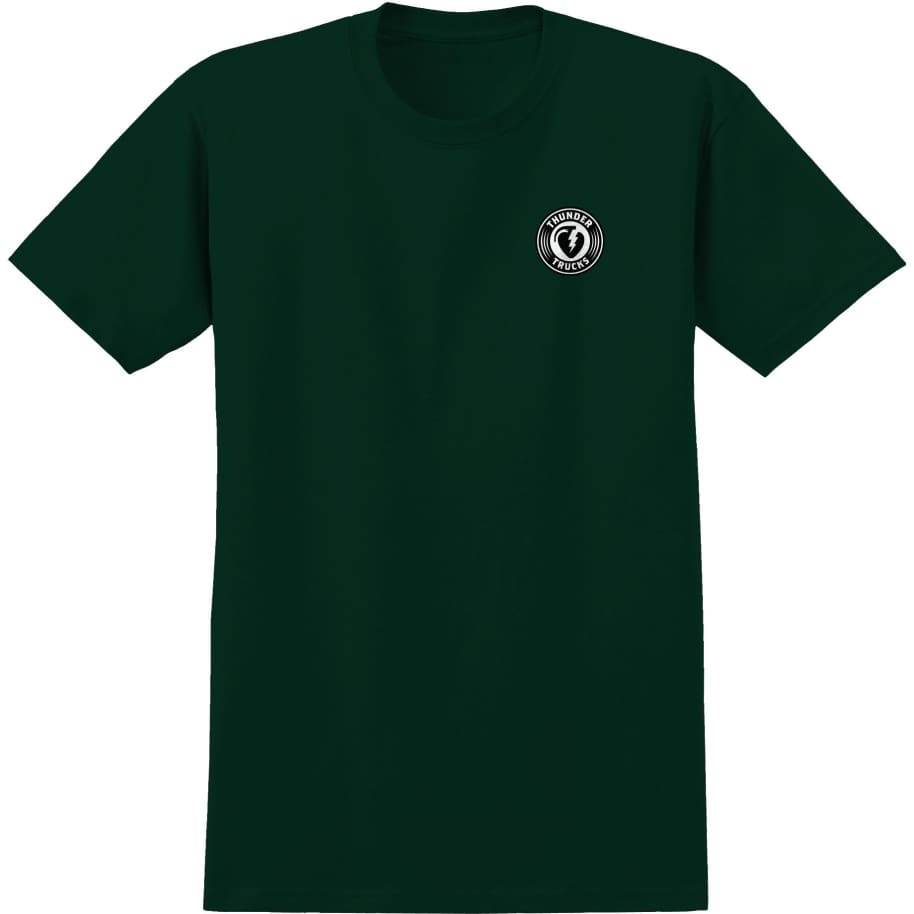 Thunder Charged Grenade T-Shirt (Dark Green)   T-Shirt by Thunder Trucks 1