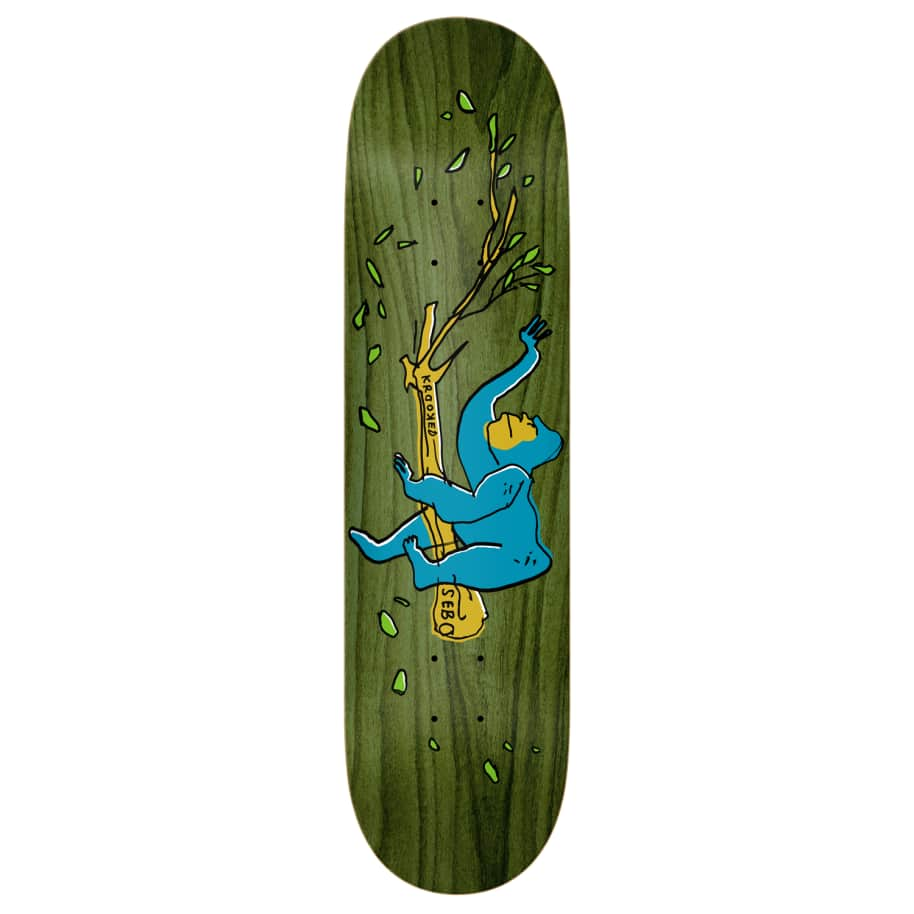 """Krooked - 8.06"""" Sebo Lounging   Deck by Krooked Skateboards 1"""