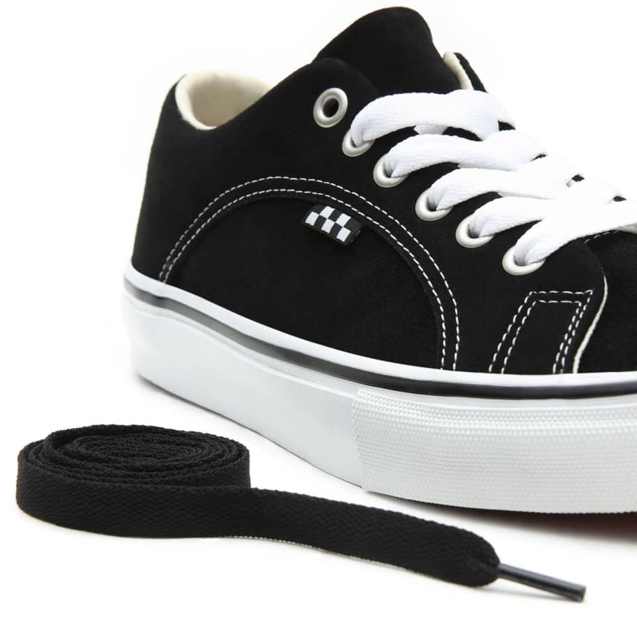 Vans Skate Lampin Shoes - Black / White | Shoes by Vans 7