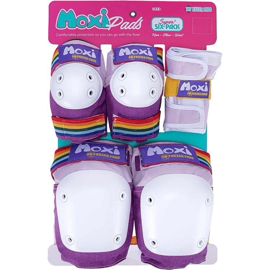 187 6 Pack Pad Set Moxi Lavender   Pads by 187 Killer Pads 1