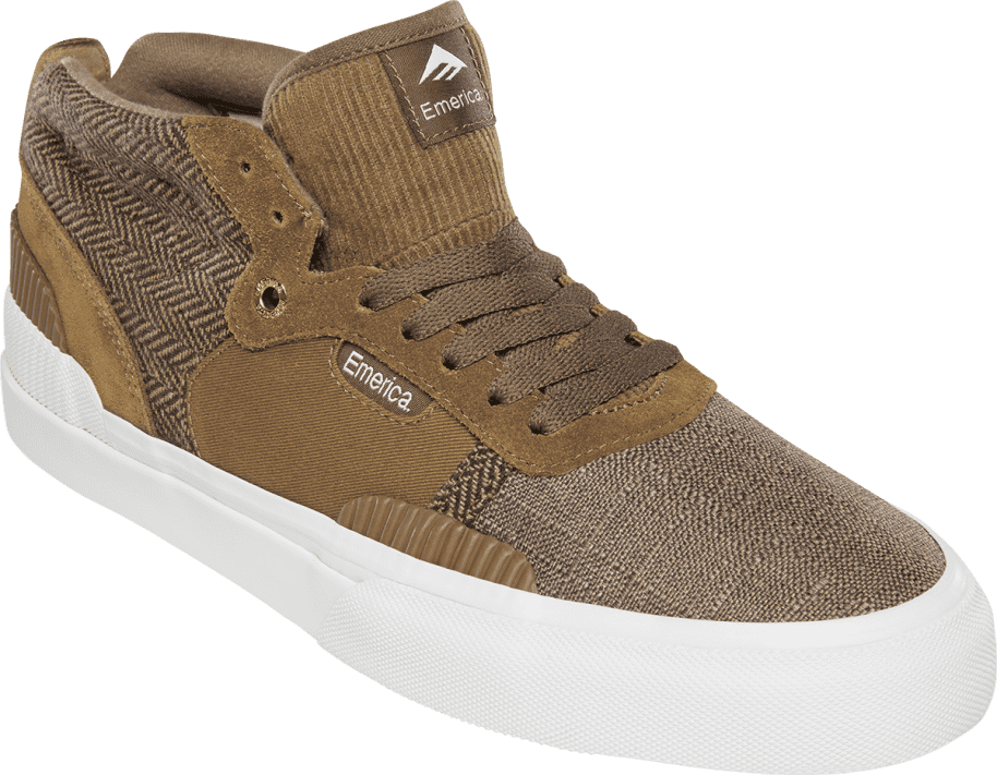 Emerica Pillar Skate Shoes - Brown | Shoes by Emerica 2