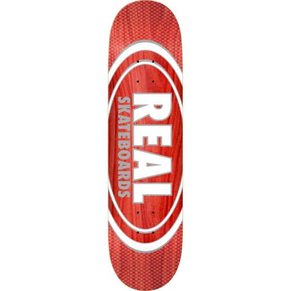 """Real Oval Pearl Patterns Slick Deck 8.25""""   Deck by Real Skateboards 1"""