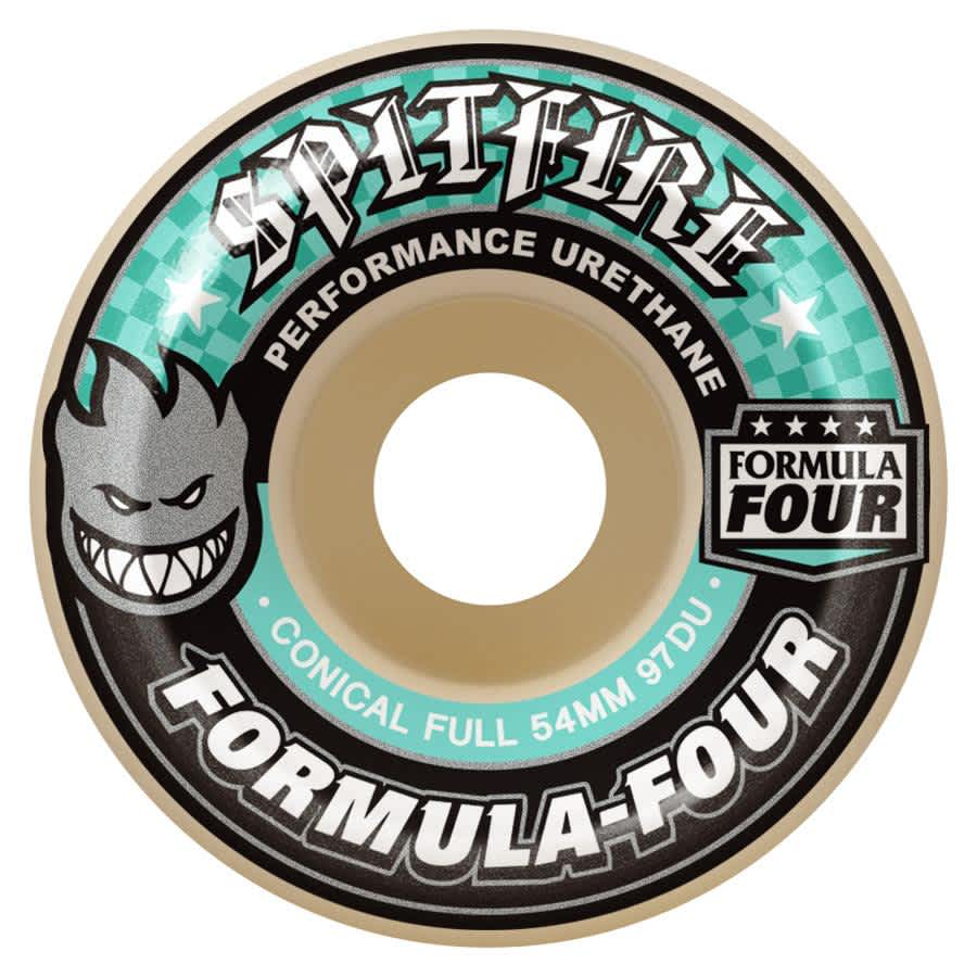 Spitfire Formula Four Wheels Conical Full 97a Natural 54mm   Wheels by Spitfire Wheels 1