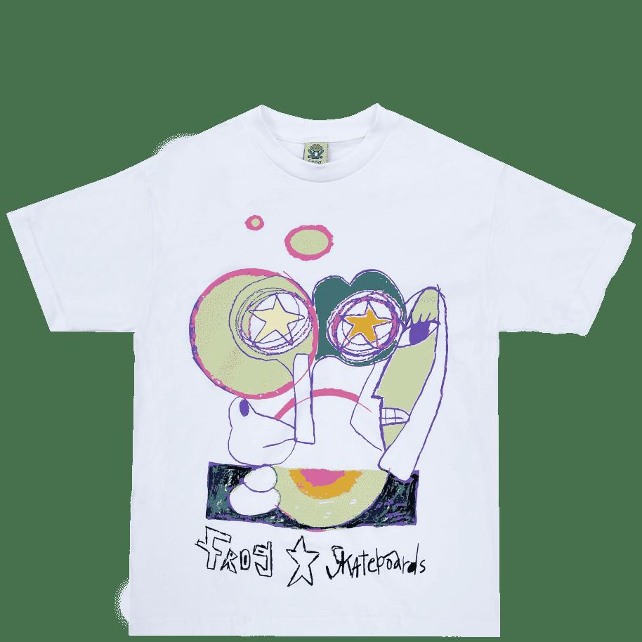Frog Senseless T-Shirt - White   T-Shirt by Frog Skateboards 1