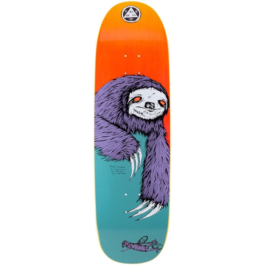 Welcome Sloth on Boline Deck   Deck by Welcome Skateboards 1