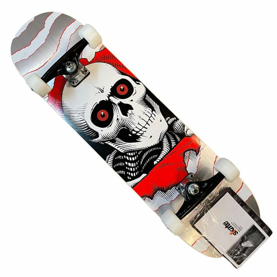 Powell Peralta Complete Ripper One Off 8x31.3 Silver | Complete Skateboard by Powell Peralta 1