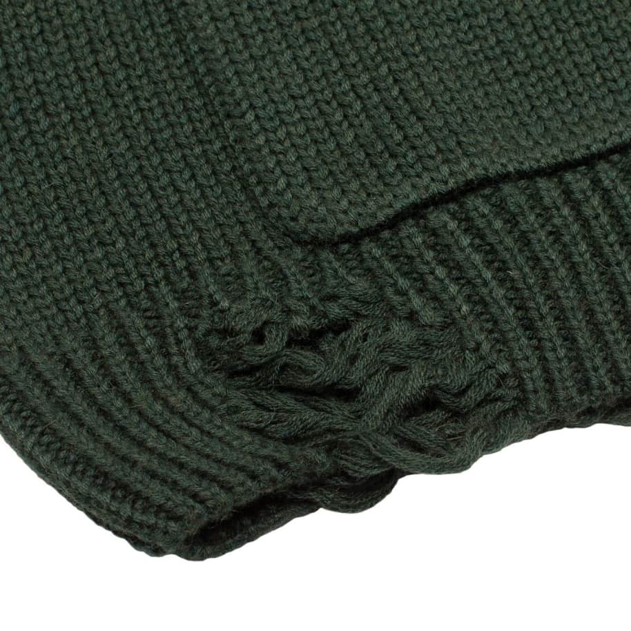 Fucking Awesome Distressed Flower Cardigan - Forest Green | Cardigan by Fucking Awesome 5