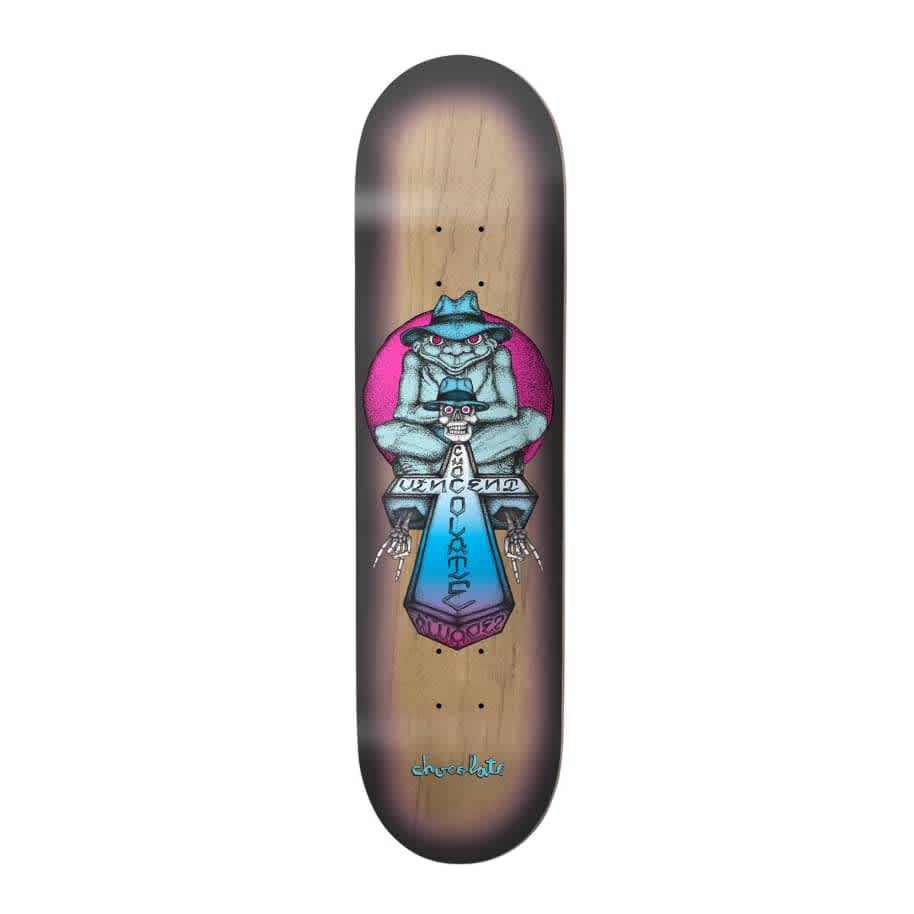 """Chocolate Skateboards El Sapo One Off Vincent Alvarez Skateboard Deck 8.25""""   Deck by Chocolate Skateboards 1"""