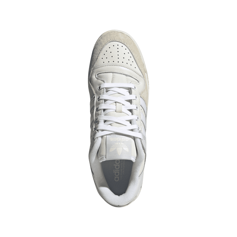 adidas Skateboarding Forum 84 Low ADV Shoes - Chalk White / Ftwr White / Cloud White | Shoes by adidas Skateboarding 2