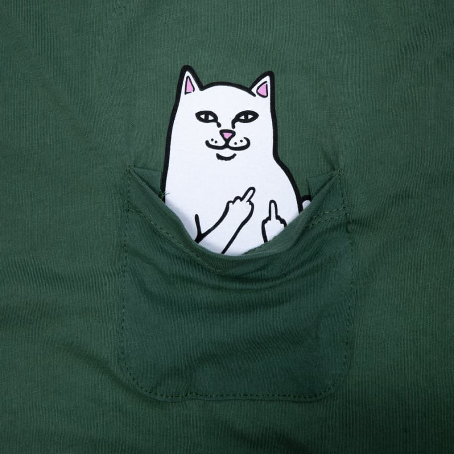 Ripndip Lord Nermal Long Sleeve T-Shirt - Olive | Longsleeve by Ripndip 2