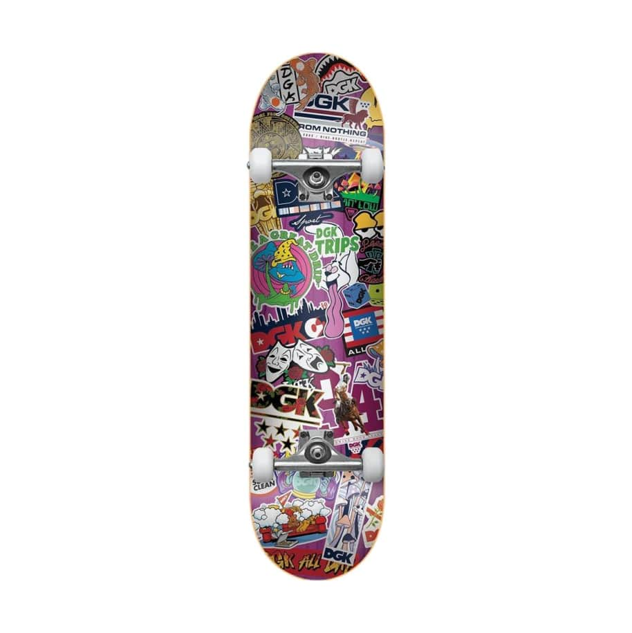 DGK Stick Up Mini Comp 7.25 | Complete Skateboard by DGK 1