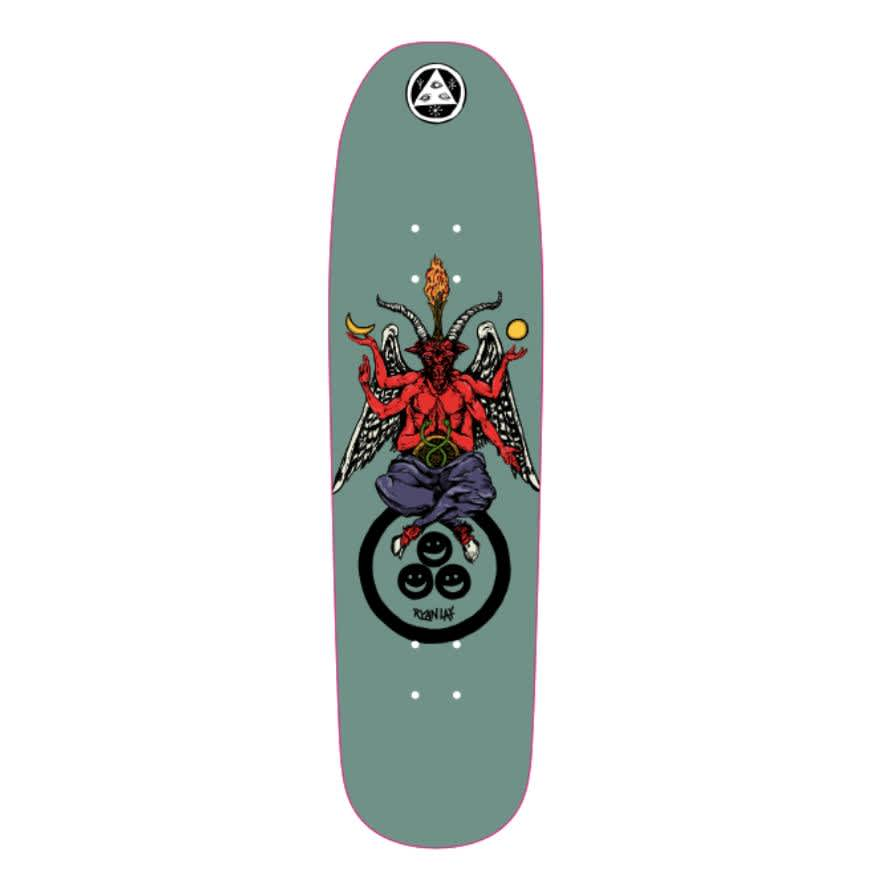 """Welcome Skateboards Bapholit Ryan Lay Pro on Stonecipher Deck 8.6"""" 