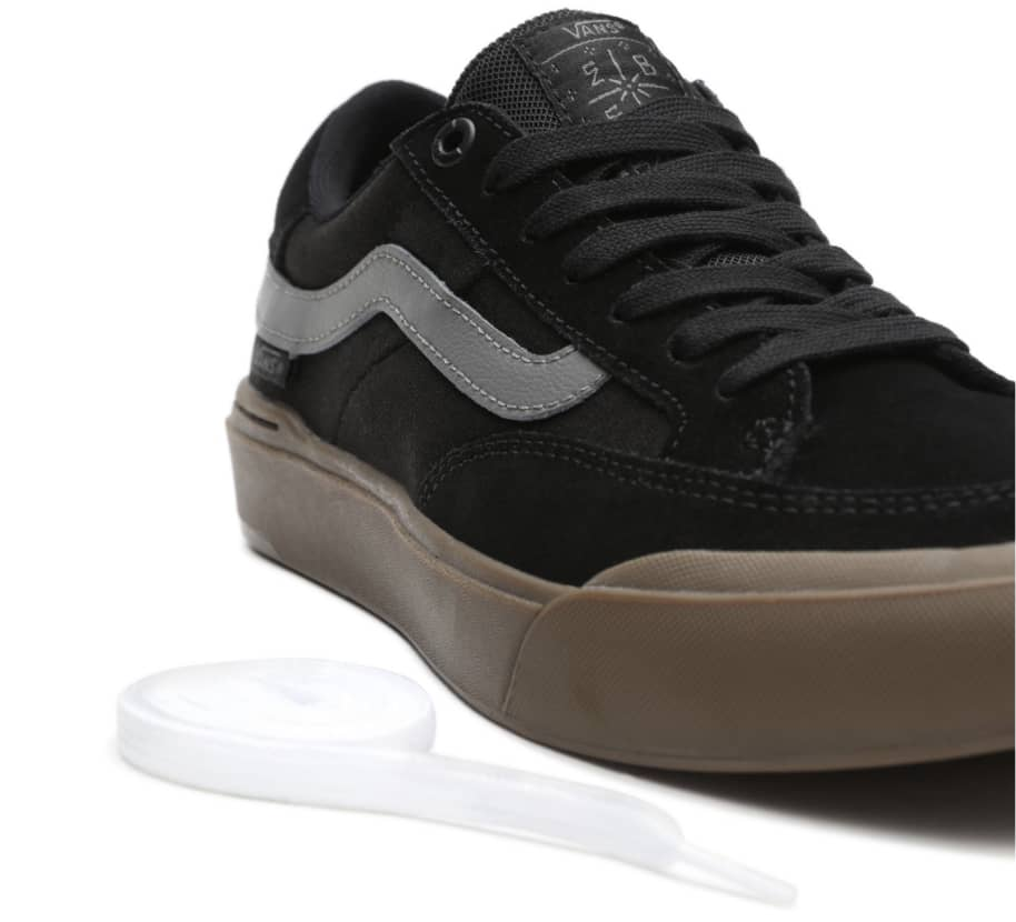 Vans Berle Pro Skate Shoes - Black / Dark Gum | Shoes by Vans 5